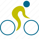 athlete, bicycle, cycler, cycling, game, man, olympic, people, person, play, player, road, sport, sports icon