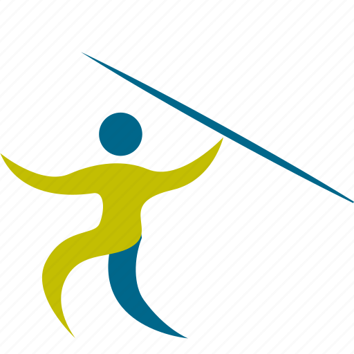 athlete, game, javelin, man, olympic, people, person, play, player, sport, sports, throw icon