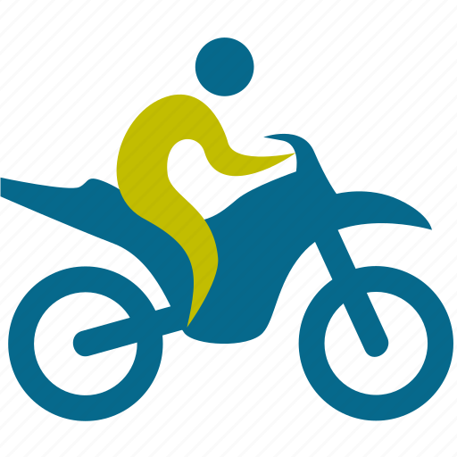 bicycle, game, man, motorcycle, people, person, play, player, sport, sports, transportation, vehicle icon