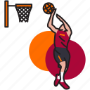 basket, basketball, game, nba, shoot, sport, throw icon