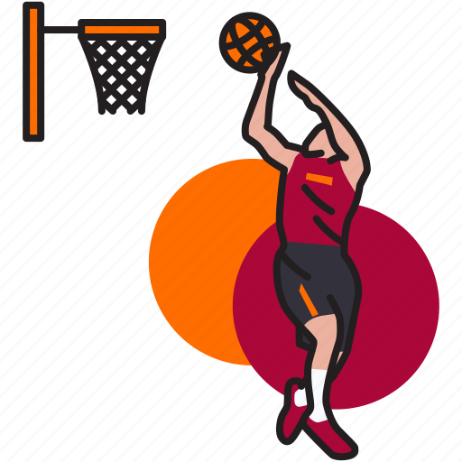 basket, basketball, game, nba, shoot, sport, throw icon