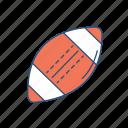 health, nfl, rugby, sport, touchdown icon