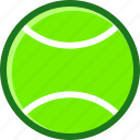 game, green, match, racket, tennis icon