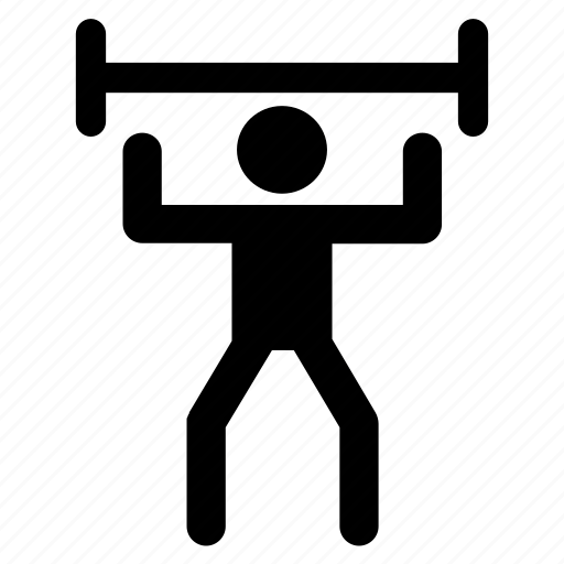 activity, health, people, sport, strong, weightlifting icon