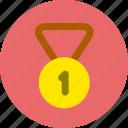 medal, race, sport, win icon