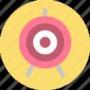 bullseye, race, target icon