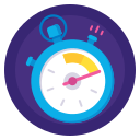 badge, fast, results, sport, stopwatch, time, timer icon