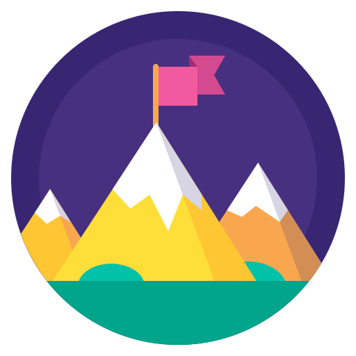 badge, flag, leader, mountain, sport, top, winner icon
