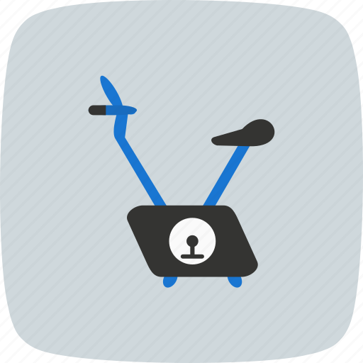 active, activity, bike, exercise bike, fitness, weight, workout icon