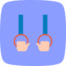 gymnastic, olympics, ring, rings icon