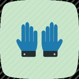 glove, gloves, working gloves icon