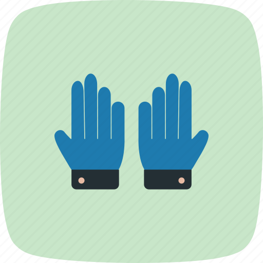 glove, gloves, working gloves icon