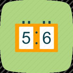 board, digital, score icon