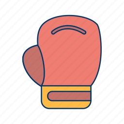 boxing, fight, gloves, ring, sport icon