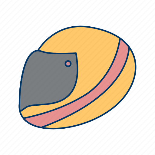 halmet, hard, hat, race, racing halmet, safety icon