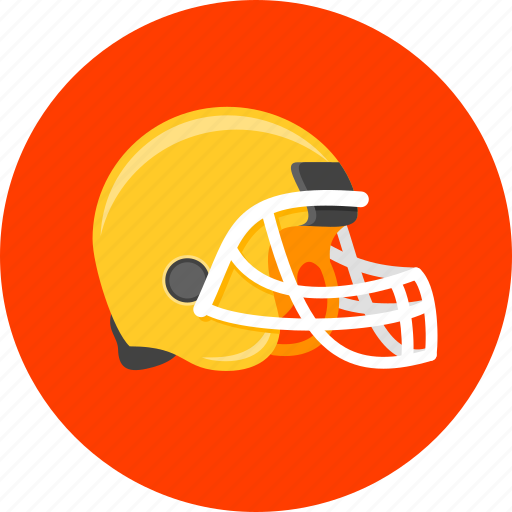 american, football, helmet, protective helmet, safety helmet, sport, training icon