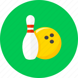 ball, bowling, bowling pins, game, pin, play, sport icon