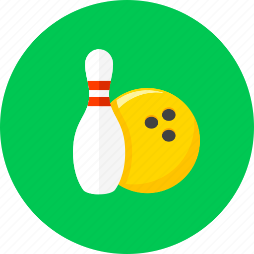 ball, bowling, bowling pins, game, pin, play, sport icon