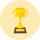 achievement, award, cup, medal, prize, trophy, winner icon