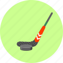 bandy, hockey, hockey stick, ice, ice hockey, puck, sport icon