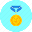 achievement, award, medal, prize, reward, trophy, winner icon