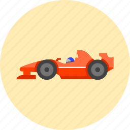 car, formula one, motor sport, race, racing, speed, sport car icon