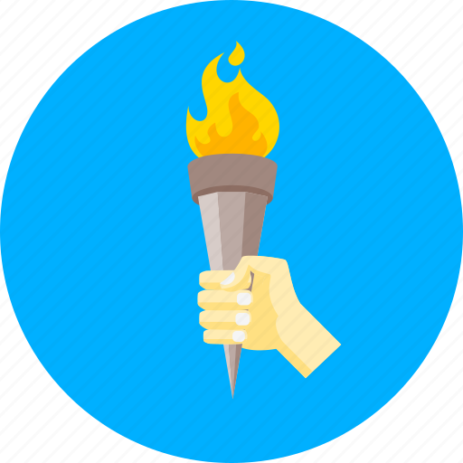 burn, fire, flame, olympic, olympic games, sport, torch icon