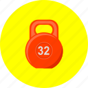 competion, dumbbell, exercise, fitness, sport, training, weight icon