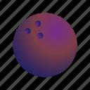 ball, bowling, sport