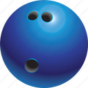ball, bowling, bowls, game, ninepines, sport icon