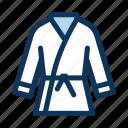 karate, sport, uniform icon