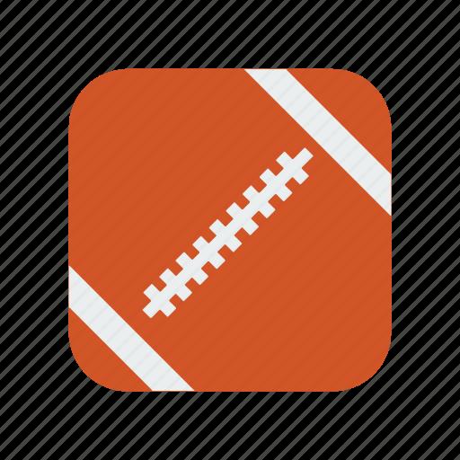 american, ball, equipment, football, game, play, sport icon