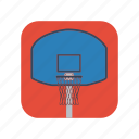 basketball, hoop, indoor, outdoor, shoot, slamdunk, sport icon