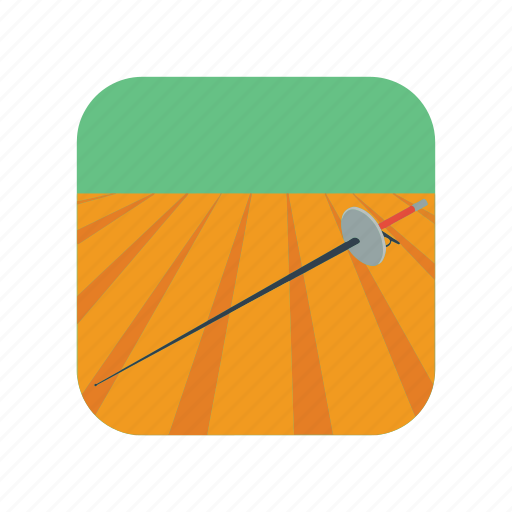 competition, competitive, duel, fencing, fight, sword, weapon icon