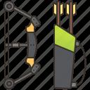 accuracy, archer, archery, arrow, equipment icon
