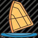 activity, adventure, ocean, outdoor, windsurf