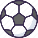 ball, kick, soccer, tim icon