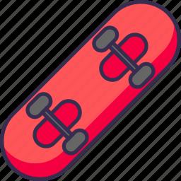 board, skate, skateboard icon