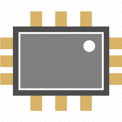 chip, microchip, nano icon