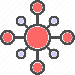 connection, net, web icon