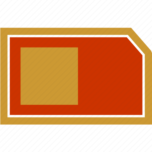 card, chip, data, memory icon