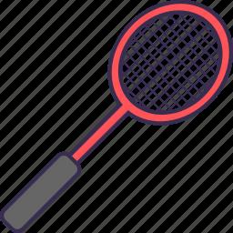 badminton, net, racket icon