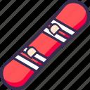 skate, skateboard icon