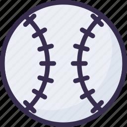 ball, softball, sport icon