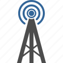 antenna, signal, tower icon
