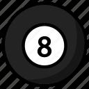 ball, billiard, billiards, game, sport icon