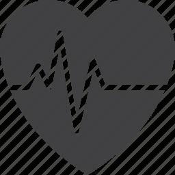 beat, cardio, health, heart, pulse icon