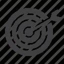 aim, dartboard, goal, sport, target icon