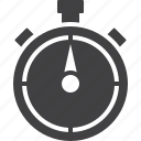chronometer, speed, stopwatch, timer icon