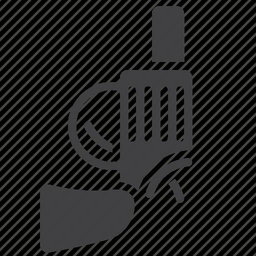 gun, handgun, pistol, sport, starter icon
